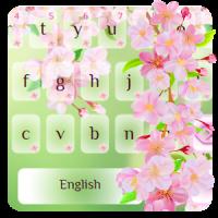 Cherry Blossom Typewriter