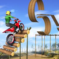 Tricky Bike Trail Stunt