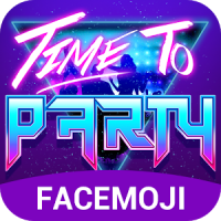 Party Emoji Keyboard Sticker