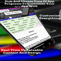 App Maker / App Builder / App Creator / Demo Ver.