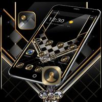Gold Black Luxurious Theme