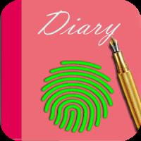 secret diary with fingerprint 2018 cute