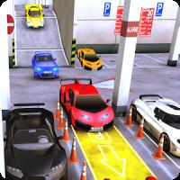 Sports Car Parking 3D & Luxury Car Driving Test