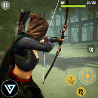 Ninja Archer Assassin FPS Shooter: 3D Offline Game