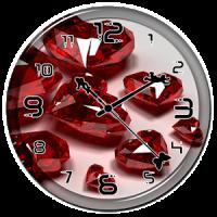 Diamond Heart Clock Live WP