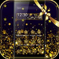 Gold Star Theme Starry Sky
