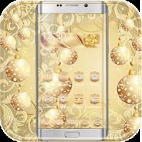 Gold Snow Ball Theme