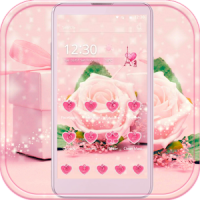 Pink Rose Theme love story