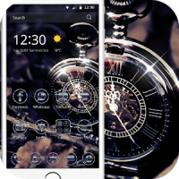 Retro pocket watch theme