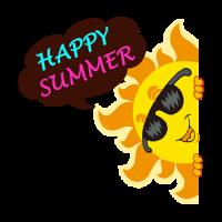Summer Holiday Sticker GIF