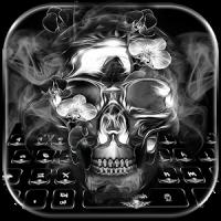 Black Skull Keyboard Theme