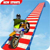 Stunt Bike Impossible Tracks-Race Moto Drive Game