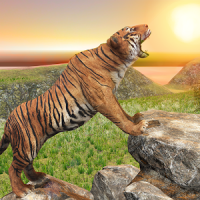 Ultimate Tiger Family Wild Animal Simulator Games