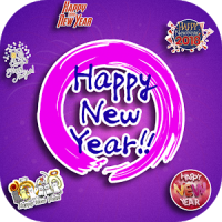 WAStickerApps Happy New Year Sticker Pack