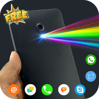 Color Flash on Call and SMS : Call Screen Phone