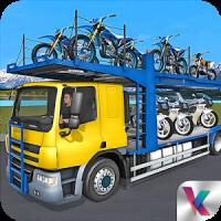 Bike Transport Truck Driver