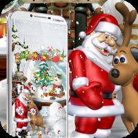 Merry Christmas Santa theme 3D