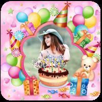 Birthday Cake Photo Frame