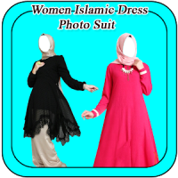 Women Islamic Dress Photo Suit