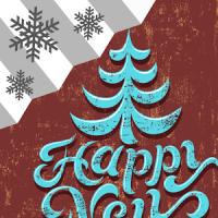 Happy New Year Weather Widget
