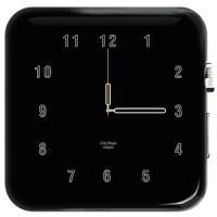 Home Screen Clock for Android