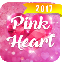 Pink Heart Font for FlipFont ,Cool Fonts Text Free