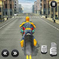 Moto Spider Traffic Hero