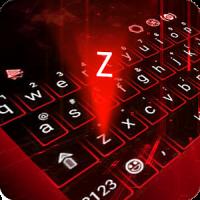 Hologram Neon Keyboard Theme