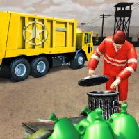 Army Garbage Truck Simulator 2018