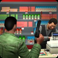 Supermarket Robbery Crime City