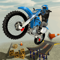 Rooftop Bike Rider Stunt Game