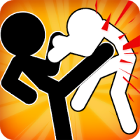 Stickman Fighter : Mega Brawl (stick fight game)