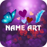 Heart Name Art
