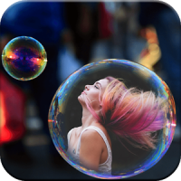 Bubble Frames for Pictures
