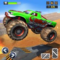 Monster Truck Derby Crash Stunts