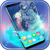 Gravity Water Astronaut Themes HD Wallpapers icons
