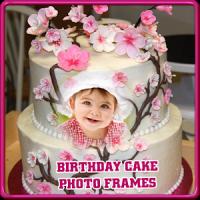 Happy Birthday Cake Frames