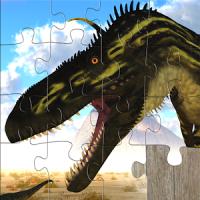 Kinderpuzzles Dinosaurier