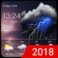 Easy weather forecast app free