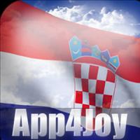3D Croatia Flag Live Wallpaper