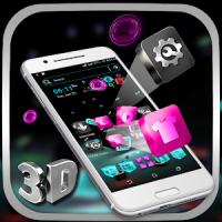 3D Icon Launcher Theme