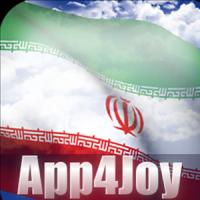 3D Iran Flag Live Wallpaper