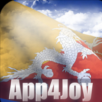 3D Bhutan Flag Live Wallpaper
