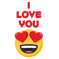 WAStickerApps I love you
