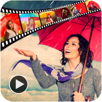 Rainy Video Maker With Music