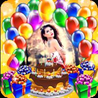 Happy Birthday Card Photo Frame