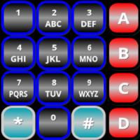 16 Tone DTMF Generator Keypad 1234567890*#ABCD1750