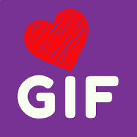 GIF Love stickers. Special Package