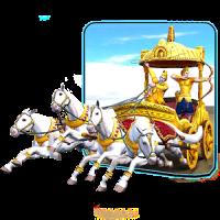 3D Krishna Arjuna Rath Live Wallpaper