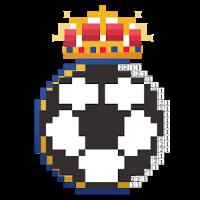 Pixel football logos